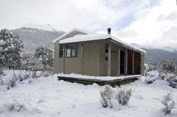 Snow at the Nina Hut