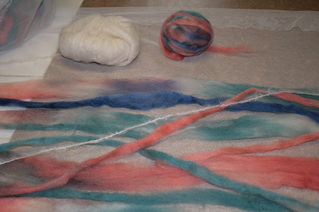 Feltmaking tutorial picture
